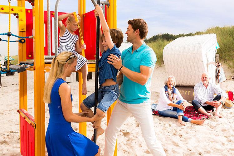 Strandspielplätze