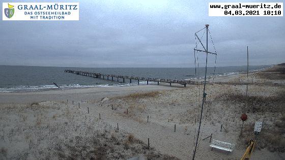 Webcam Seebrücke Graal Müritz